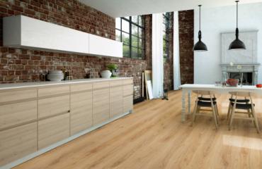Làm đẹp không gian sống với sàn gỗ công nghiệp