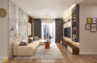 Thiết kế thi công nội thất căn hộ Sunrise City Central quận 7