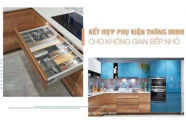 Phụ kiện tủ bếp thông minh inox giá rẻ trong thiết kế nội thất