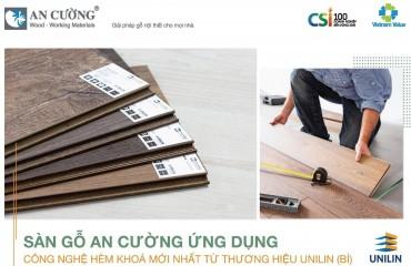 Sàn gỗ An Cường có hèm khóa ứng dụng công nghệ mới
