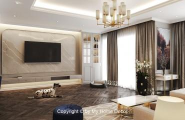 Thi công thiết kế nội thất căn hộ The Peak Midtown Phú Mỹ Hưng giá rẻ