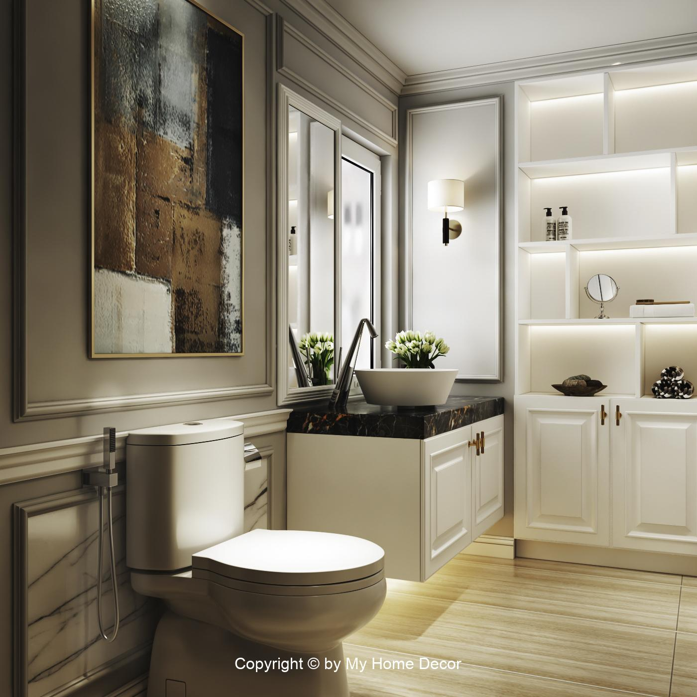 Mẫu thiết kế nhà vệ sinh - Hình 4