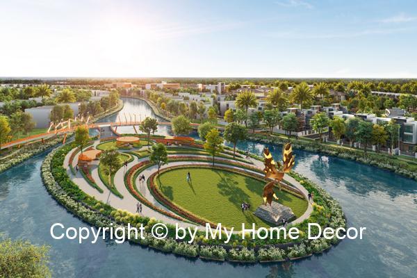 Aqua city không gian sống xanh gần gũi với thiên nhiên
